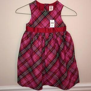 GAP Dresses - Gap pink red plaid dress NEW 4